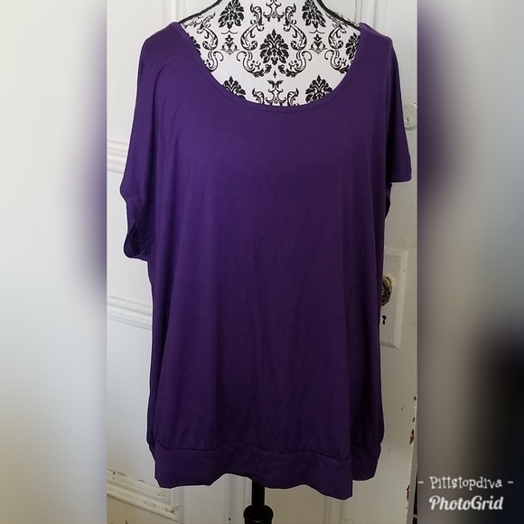 Mixed Intimate Items Torrid Sz 3 3x Lavender Purple Lace Flowy Shorts Nwot
